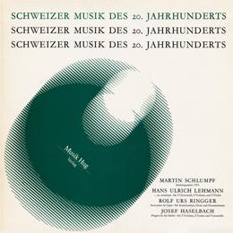 Schweizer Musik 20. Jhdt.